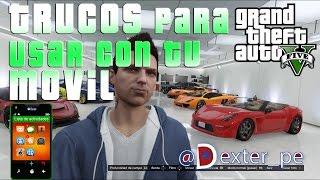 GTA V online | PS4 | TRUCOS para el movil o celular| Gameplay en español
