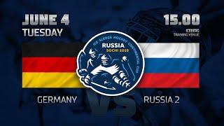 """Германия - Россия 2. Следж-хоккей. """"Кубок континента"""". Прямая трансляция - 4 июня 15:00"""