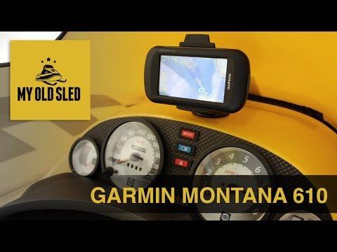 Garmin Montana 610: Good Investment For A Snowmobiler?