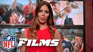 Gambar cover Katie Nolan's Best Behind the Scenes Bloopers   NFL Films Presents
