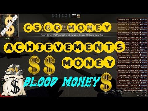 CSGO Money Achievements-Blood Money -$50,000,000 Total Cash CSGO Achievement