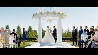 Свадьба в Летнем дворце.Выездная регистрация брака. Масштабная свадьба.