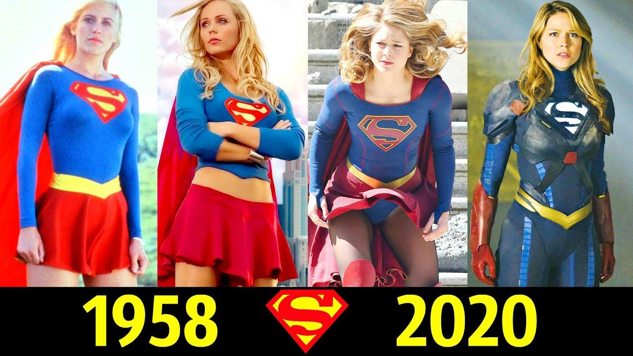 😍 СуперГерл - Эволюция (1958 - 2020) ! Все Появления Кары Зор Эл 💪!