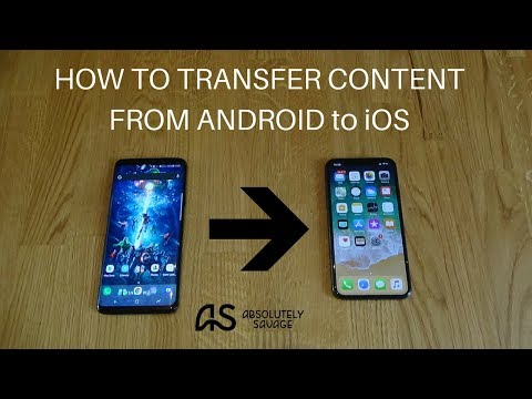 HOW TO Transfer Content From Android To IPhone