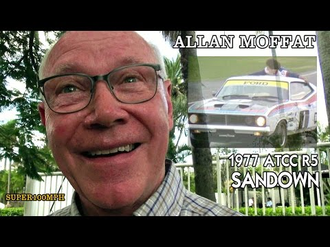 ALLAN MOFFAT 1977 Australian Touring Car Championship R5 Sandown