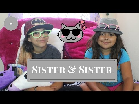 Sister Sister- Episode 1: Diy nerd glasses