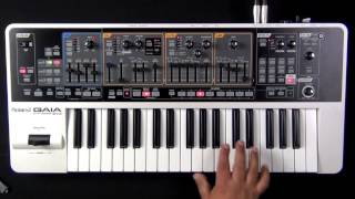 Roland Gaia SH-01 - How to Initialize a Patch