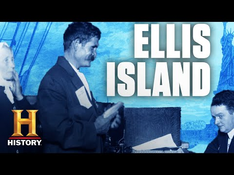 Immigrants At Ellis Island | History