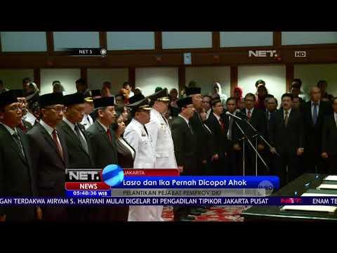 Pelantikan 221 Pejabat Pemprov DKI Jakarta - NET 5 Mp3