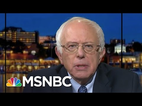 """""""Condolences are not enough"""" - Bernie Sanders calls for action in the wake of Oregon mass shooting"""