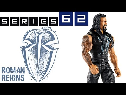 WWE FIGURE INSIDER: Roman Regins  - WWE Series 62 Toy Wrestling Figure From Mattel