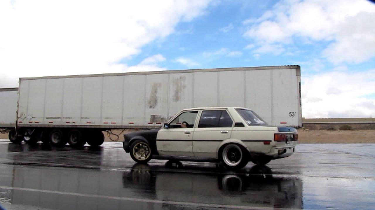 Toyota Corolla Drift Te72 Wet Sesh Youtube