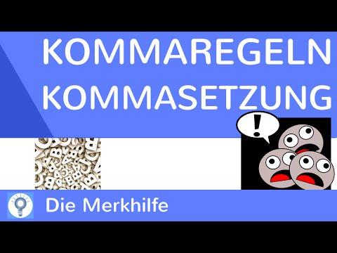 kommaregeln im deutschen einfach erkl228rt kommasetzung