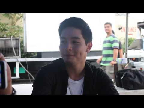 Interview with Alden Richards (Carmela Set Visit)