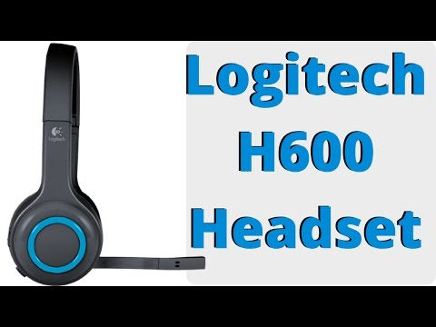 Logitech H600 Wireless Headset Review - YouTube