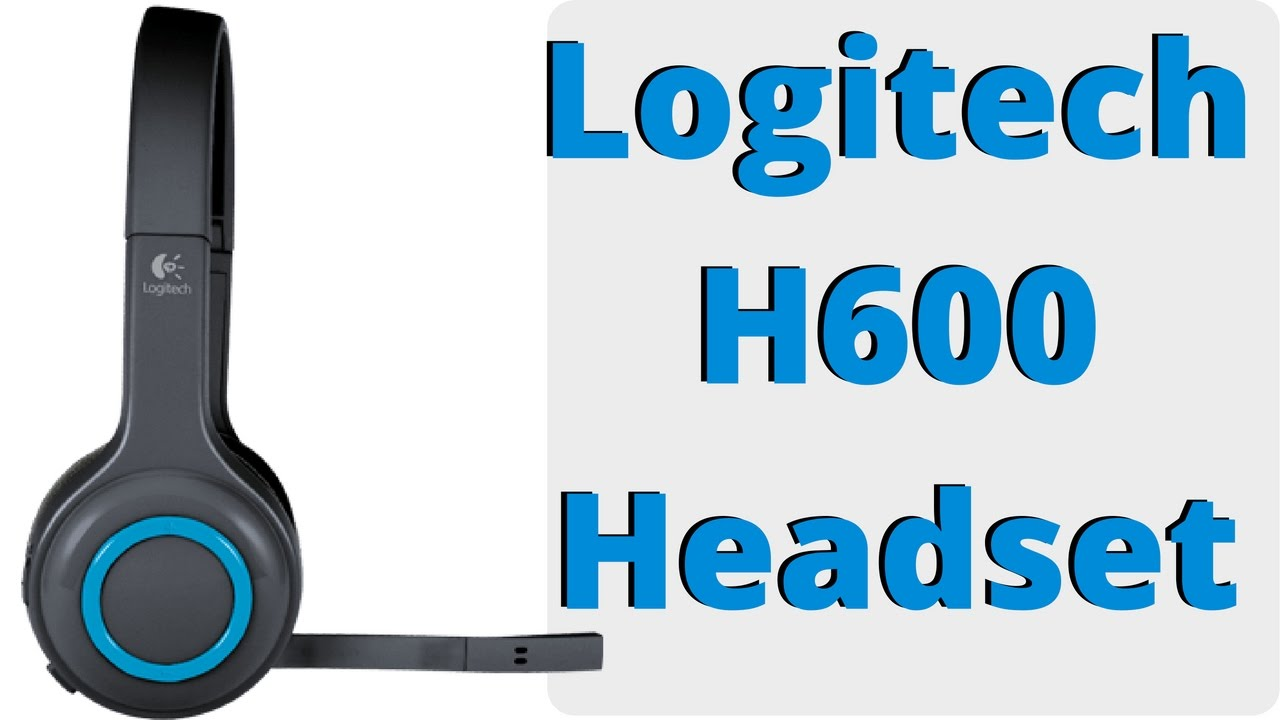 Nano receiver for wireless headset h800 - Logitech H600 Wireless Headset Review