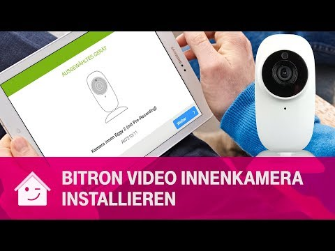 Social Media Post: BitronVideo Innenkamera AV7210/11 | Telekom Magenta SmartHome
