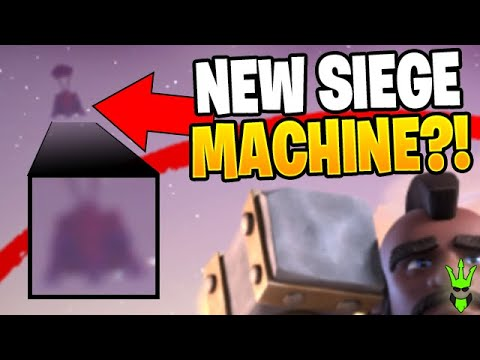 IS THIS A NEW SIEGE MACHINE COMING TO CLASH OF CLANS?!