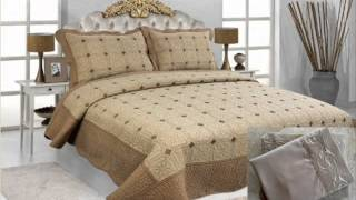 Newport Bay Luxury 7 Pcs Bed In A Bag - Embroidery Quilt Set With Sheet Set; Comforter And Sheet Set