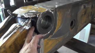 John Deere 410 Extend-A-Hoe repair