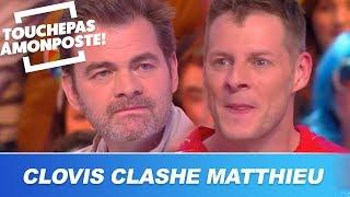 Clovis Cornillac clashe avec humour Matthieu Delormeau