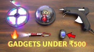 Unique Gadgets Under Rs500 | Part 9 | Tech Unboxing 🔥