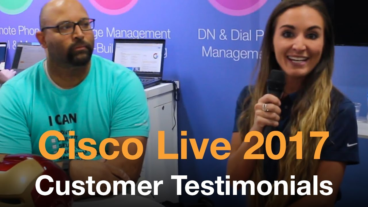 Cisco Live 2017 Interview w/ Tim - Variphy Cisco CDR Reporting & Call Analytics