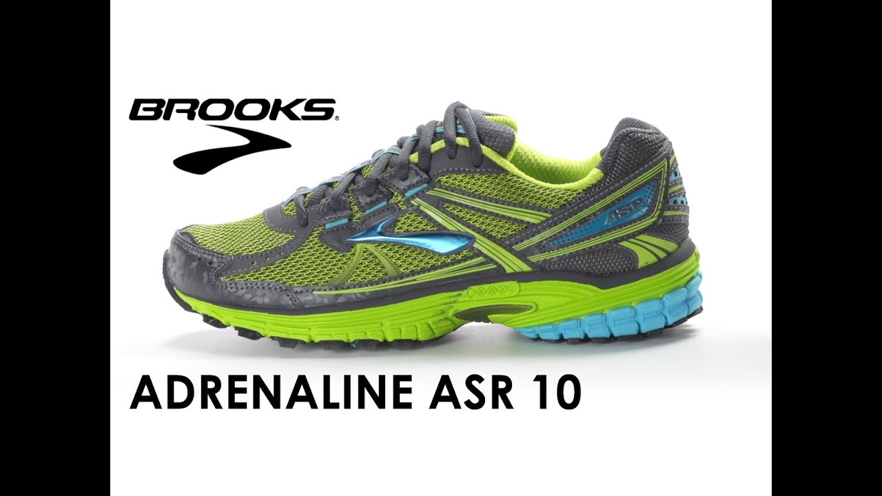 1f83132ba8b8 Brooks Adrenaline ASR 10 for women - YouTube