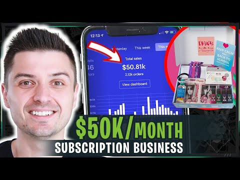 A New Way Of Dropshipping: How To Build A $50,000 Per Month Subscription Box Business