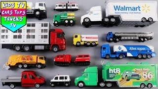 Learn Trucks Tankers For Kids | Street Vehicles For Kids | Kids Learning Video | Kindergarten