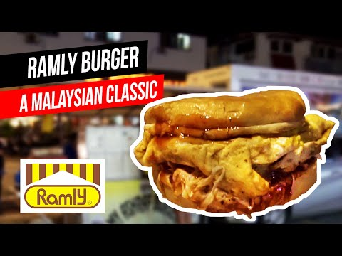 Ramly Burger (feat. Two Hungry Diners) | Malaysia Street Snack | Things To Eat In KL
