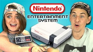 TEENS REACT TO NINTENDO (NES)(NEW Videos Every Week! Subscribe: http://goo.gl/nxzGJv Teens React to Nintendo (NES) (Bonus #75): http://goo.gl/wlRgqA Follow Maisie Williams!, 2014-09-07T19:00:04.000Z)