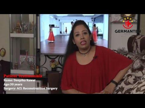 Dipika Raut ACL Surgery Testimonials