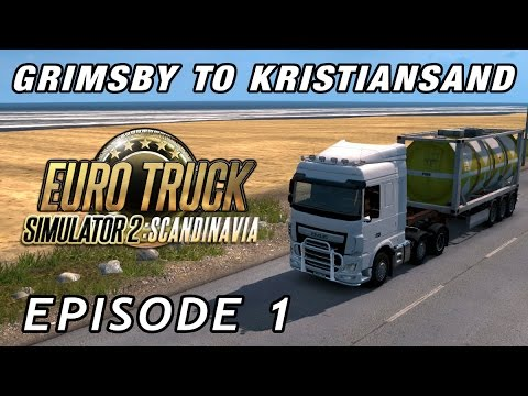 Let's Play Euro Truck Simulator Scandinavia | Episode 1