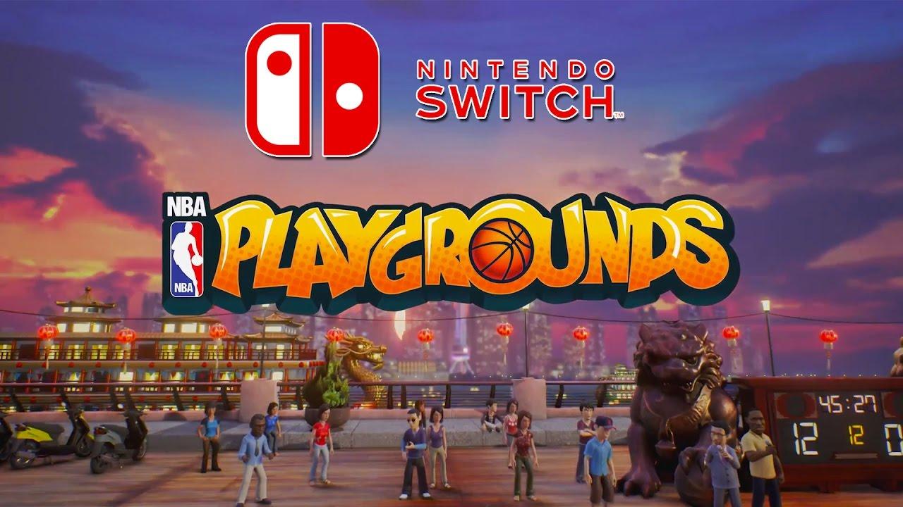 Nintendo Switch EShop Adds NBA Playgrounds Today