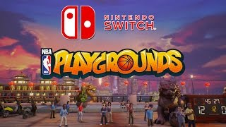 NBA PLAYGROUNDS coming to Nintendo Switch!