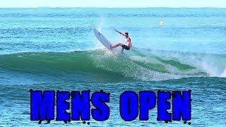 Noosa Festival of Surf 2018 - Mens Open Division highlights