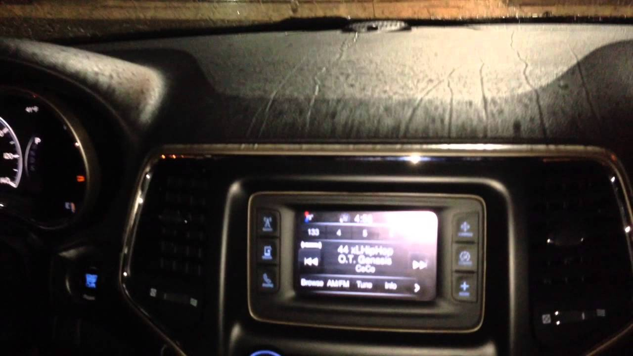 2014 Jeep Grand Cherokee Installed A Back Up Camera And