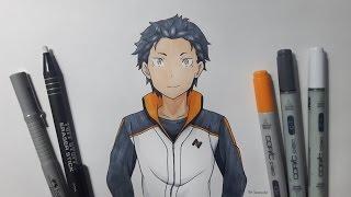 Drawing Natsuki Subaru - Re:Zero