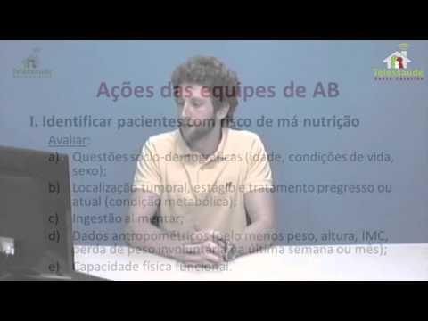 Webpalestra - Importância da nutrição durante o tratamento oncológico