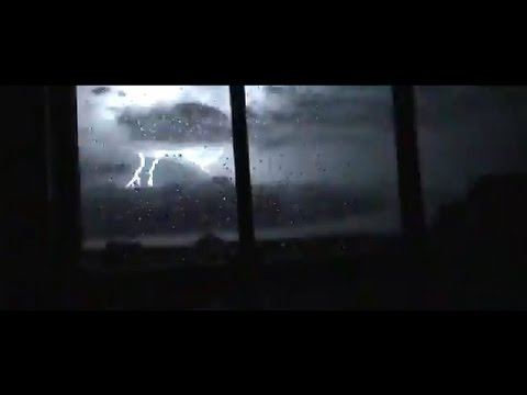 Lightening Storm Out My Window Youtube