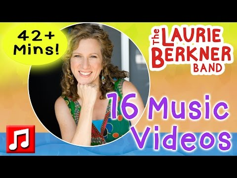 42 Mins: 16 Laurie Berkner Music Videos for Kids!