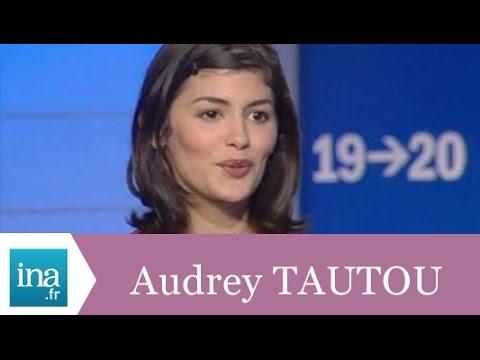 """Audrey Tautou """"Amélie crée le bonheur"""" - Archive INA"""