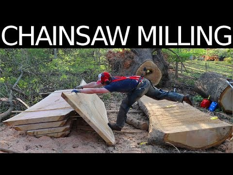 HUGE CHAINSAW MILLING