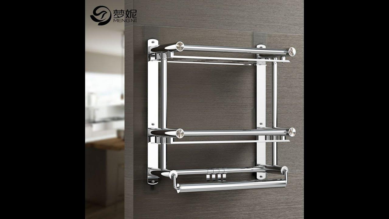 Kệ phòng tắm 3 tầng Inox 304 đa năng dính tường Mengni [SanHangRe.net]