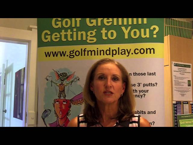 Mental Golf Tips - Mindful Golf