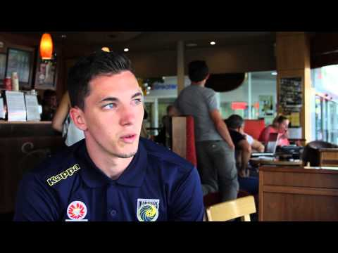 Central Coast Mariners Interview of the Week - Storm Roux