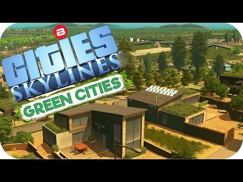 Cities: Skylines Green Cities ▶BEAUTIFUL REDWOOD HILLS◀ Cities Skylines Green Cities DLC Part 7
