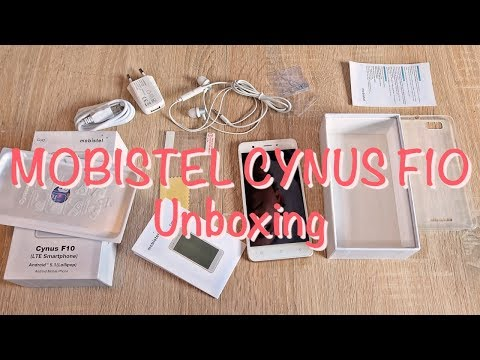 MOBISTEL CYNUS F10 SMARTPHONE Unboxing | Hyyperlic.com