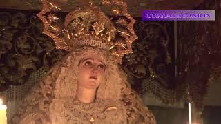 El Cristo de Burgos por la Plaza de Jesús de la Pasión (Semana Santa Sevilla 2018)
